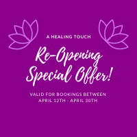 Re-Opening Special