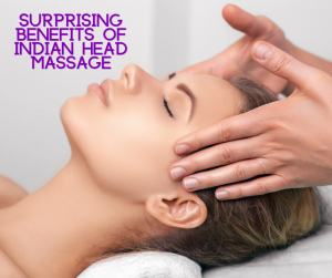 If you have never experienced an Indian head massage before, you may be thinking that all that rhythmic rubbing of your head could get a bit uncomfortable but this couldn't be further from the truth.    Indian head massages have been around for thousands of years and it has been used to relieve a variety of everyday ailments and stresses during that time. As with all massages you get a great sense of calm and relaxation from an Indian head massage.